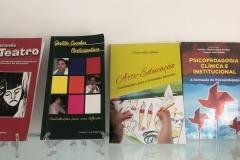 23 de Abril, dia do livro e nada melhor do que expor os livros de autoria do Professor Rabelo.